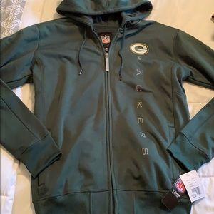 Packers Zip Up Hoodie